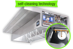 Fully Integrated Self-Cleaning Hood